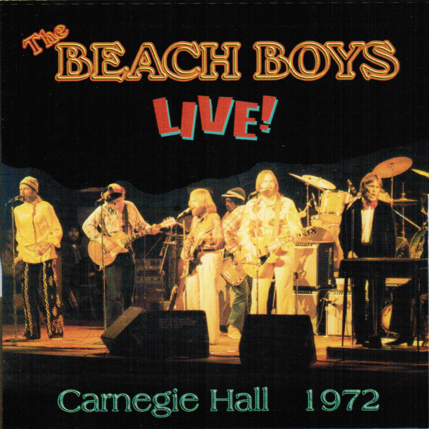 Carnegie Hall 1972 cover