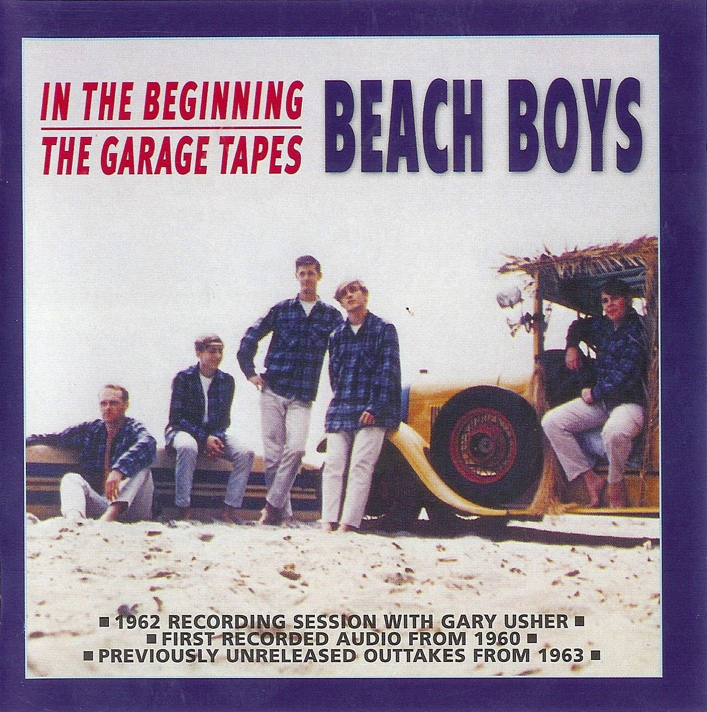 In The Beginning/The Garage Tapes cover