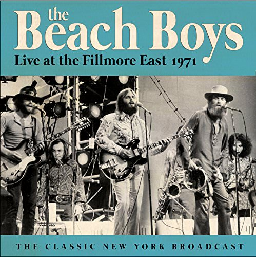 Live At The Fillmore East 1971 cover