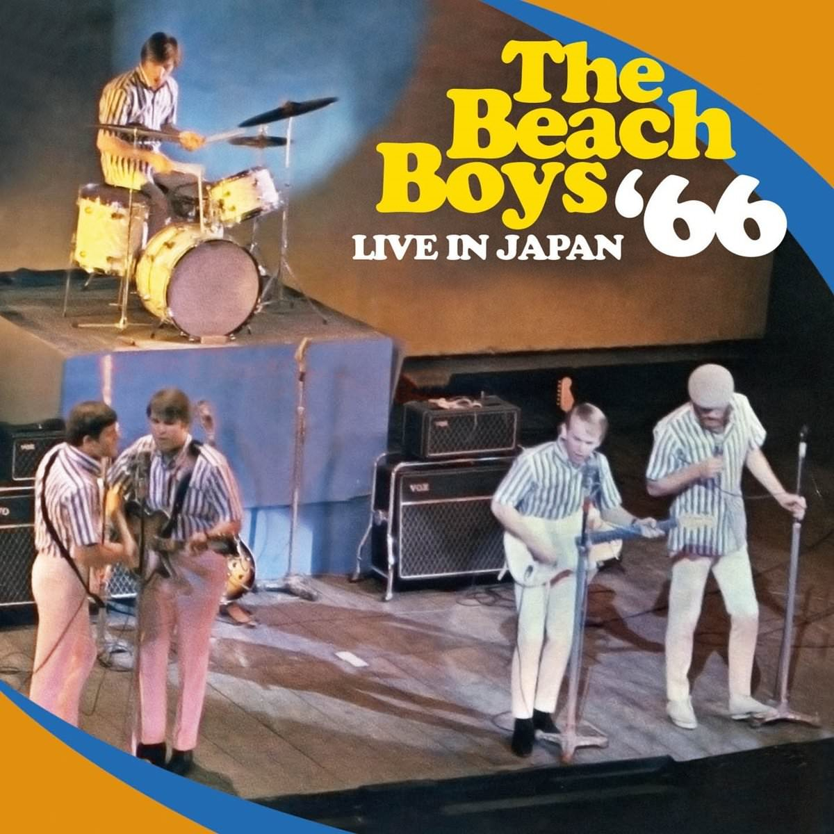 Live In Japan '66 cover