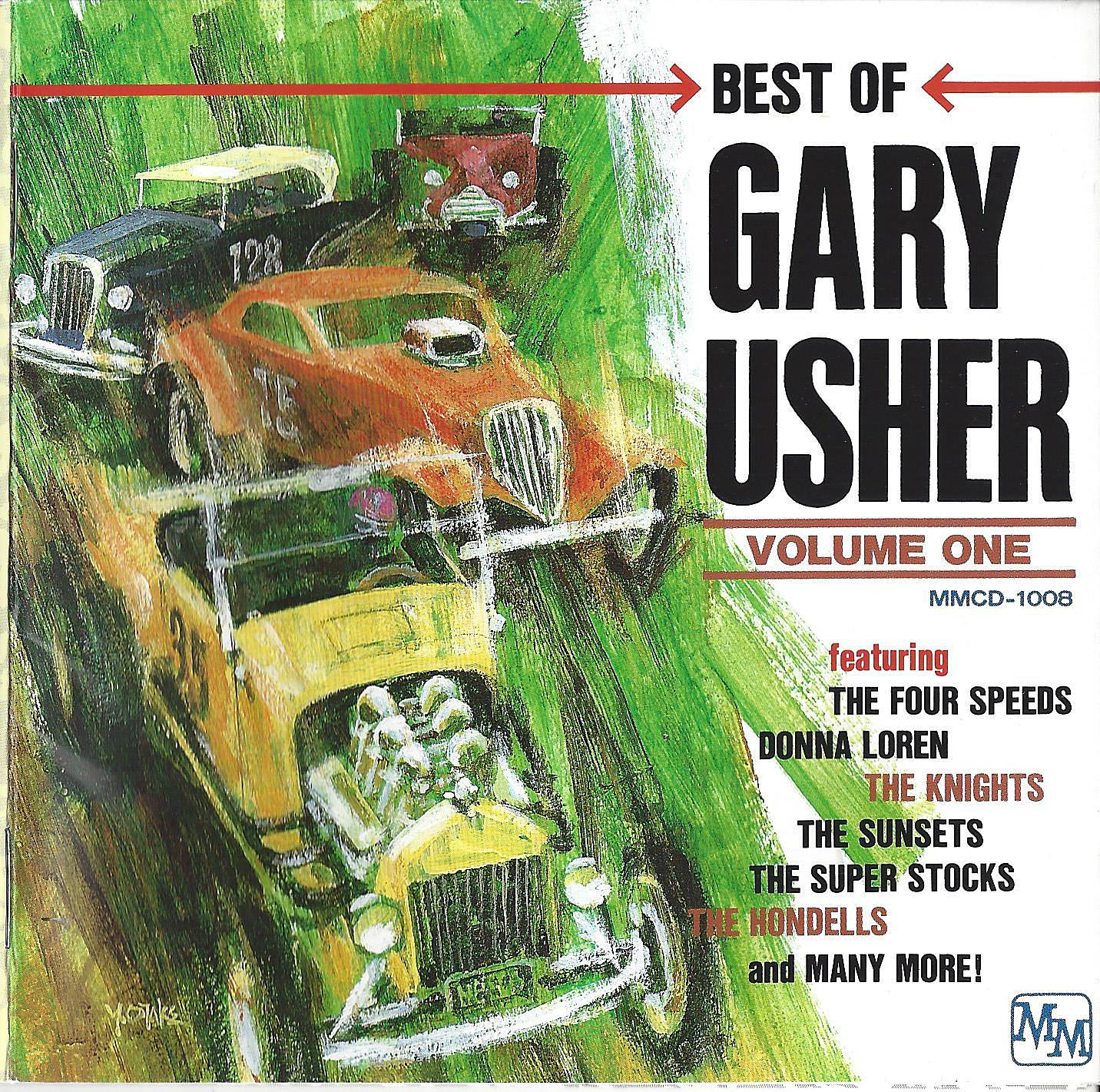 Best Of Gary Usher Volume One cover