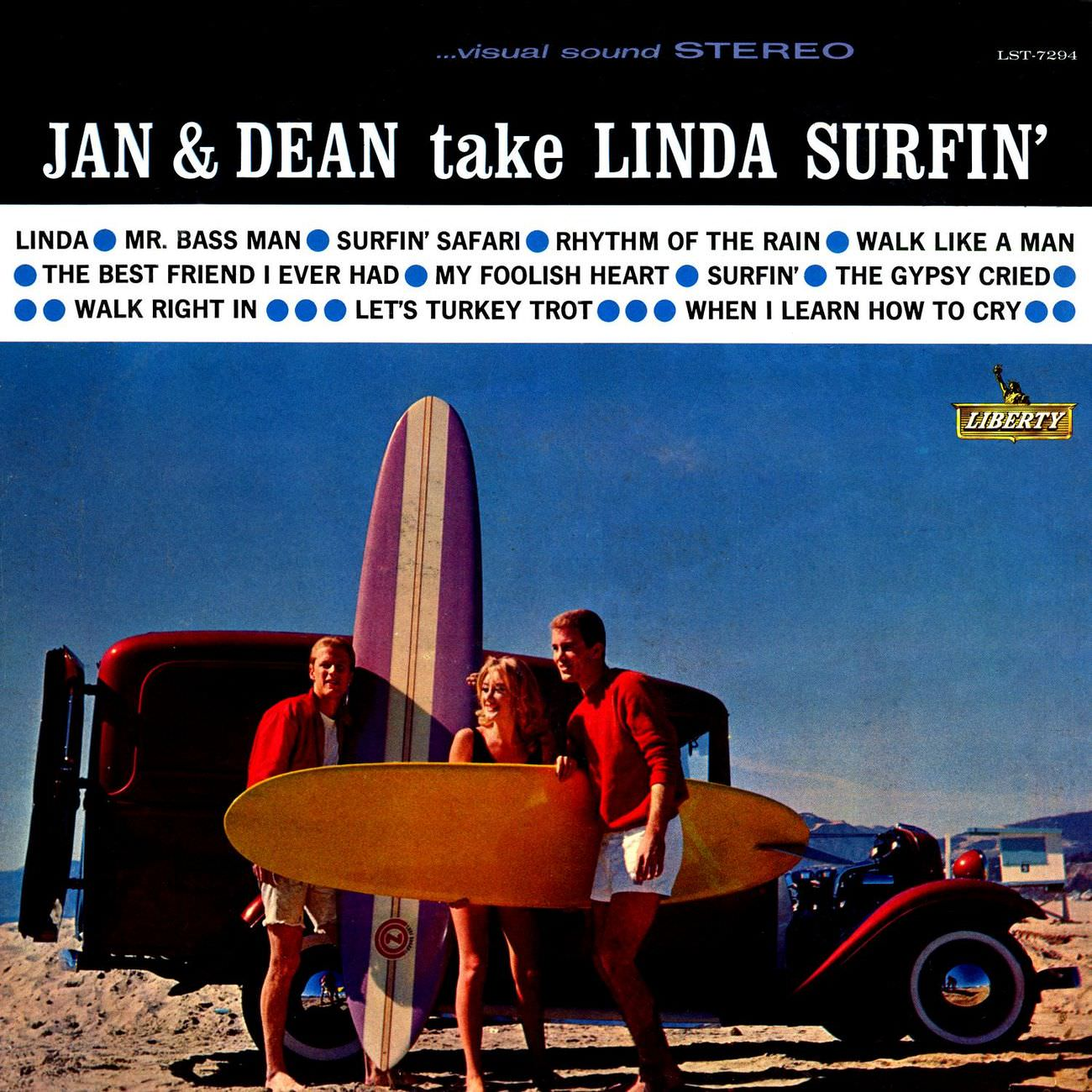 Jan And Dean Take Linda Surfin' cover