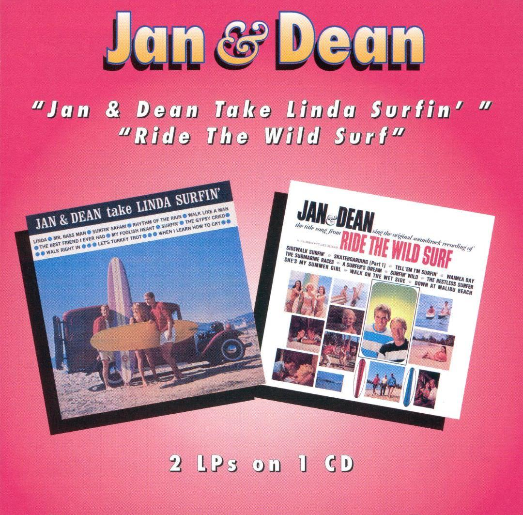 Jan & Dean Take Linda Surfin'/Ride Wild Surf cover
