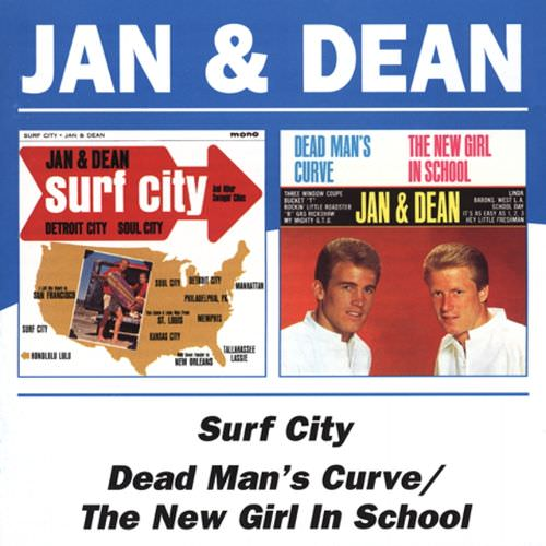 Jan & Dean: Surf City/Dead Man's Curve/New Girl In School cover