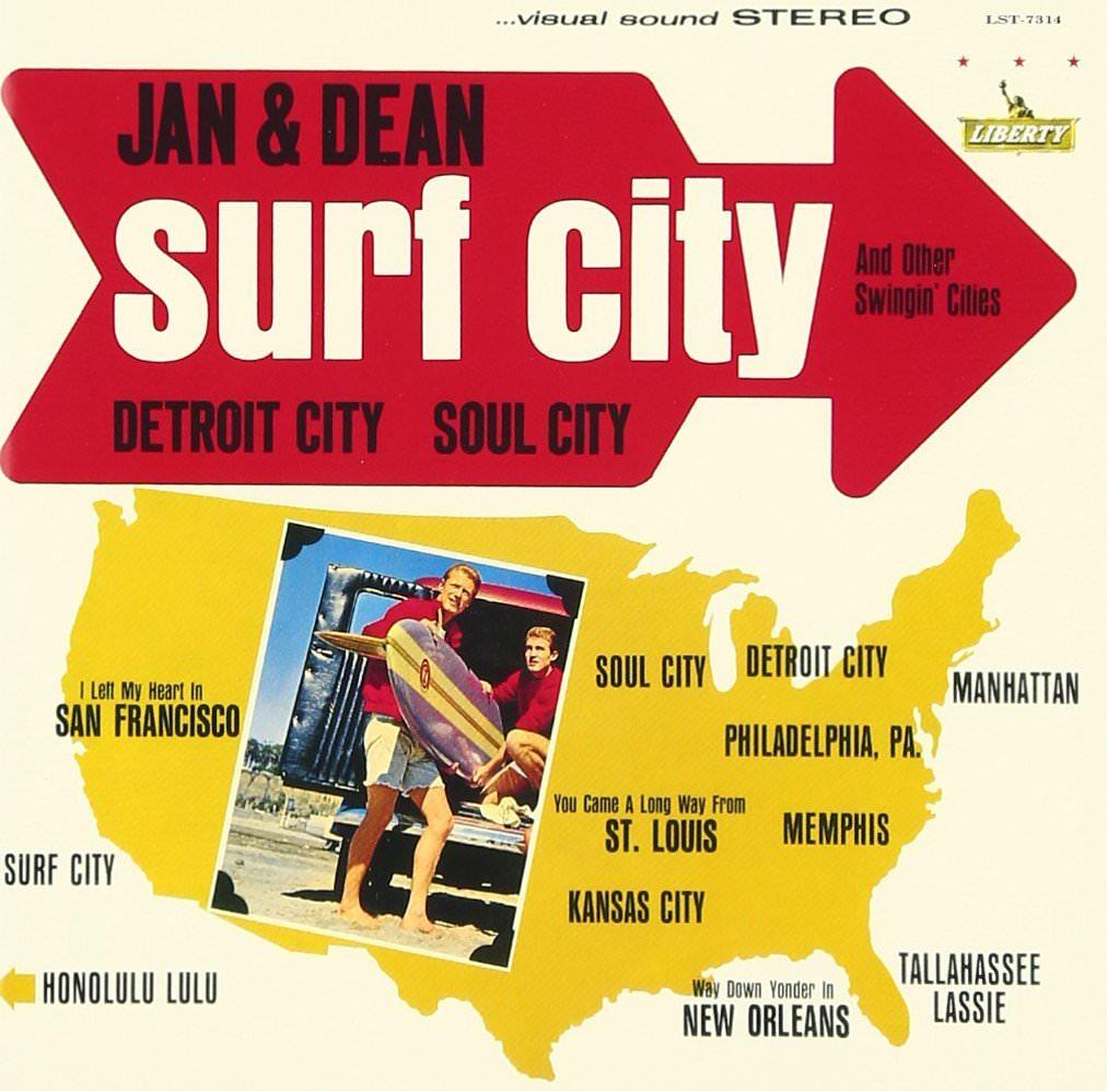 Jan & Dean: Surf City cover