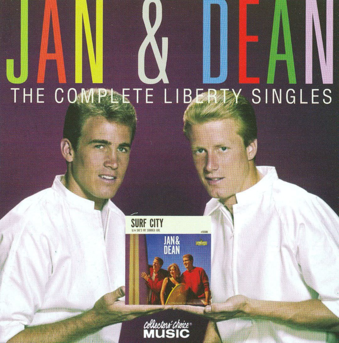 Jan & Dean: The Complete Liberty Singles cover