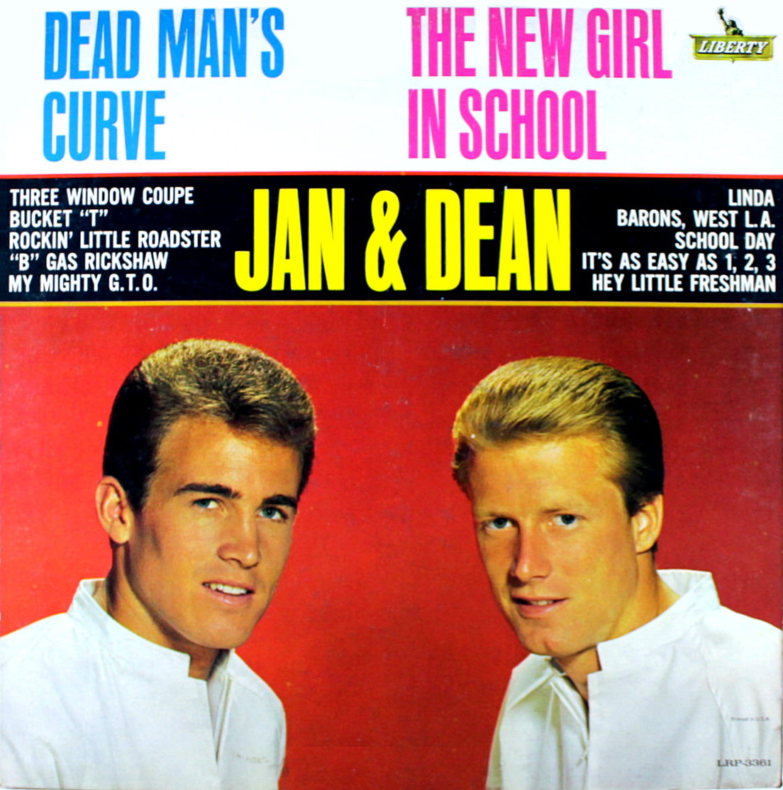 Dead Man's Curve/The New Girl In School cover