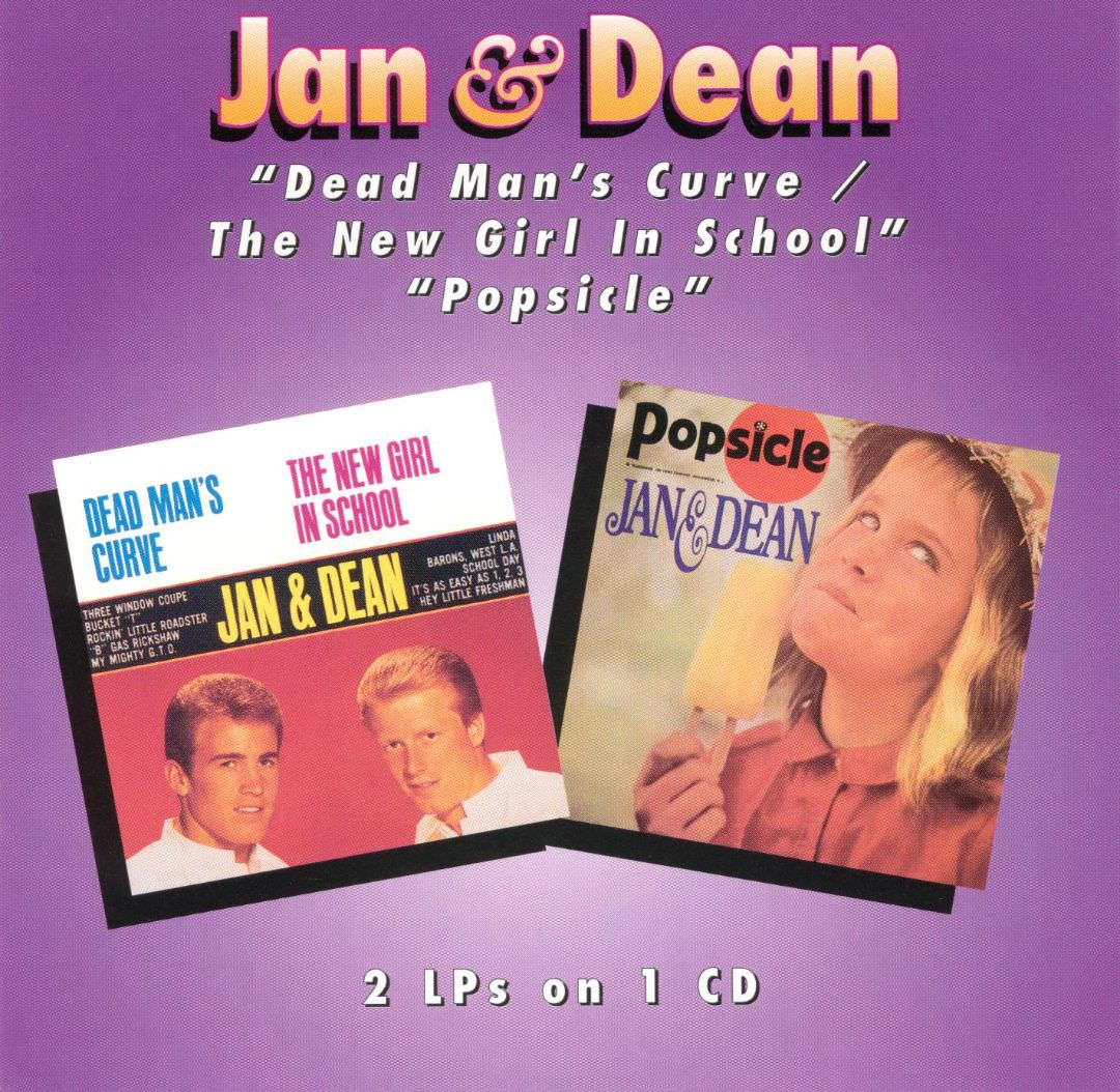 Jan & Dean: Dead Man's Curve/The New Girl In School/Popsicle cover