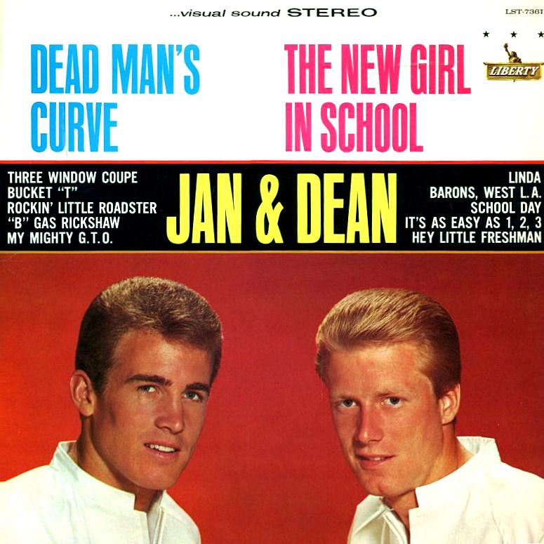 Jan & Dean: Dead Man's Curve/New Girl In School cover
