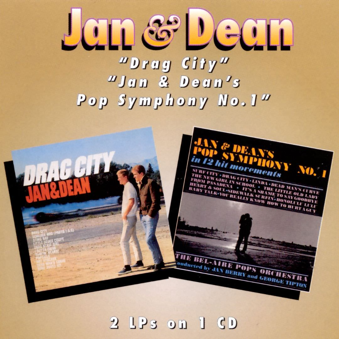 Jan & Dean: Drag City/Jan & Dean's Pop Symphony No.1 cover