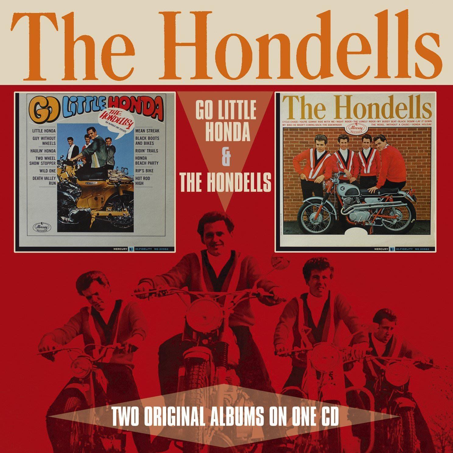 The Hondells: Go Little Honda & The Hondells cover