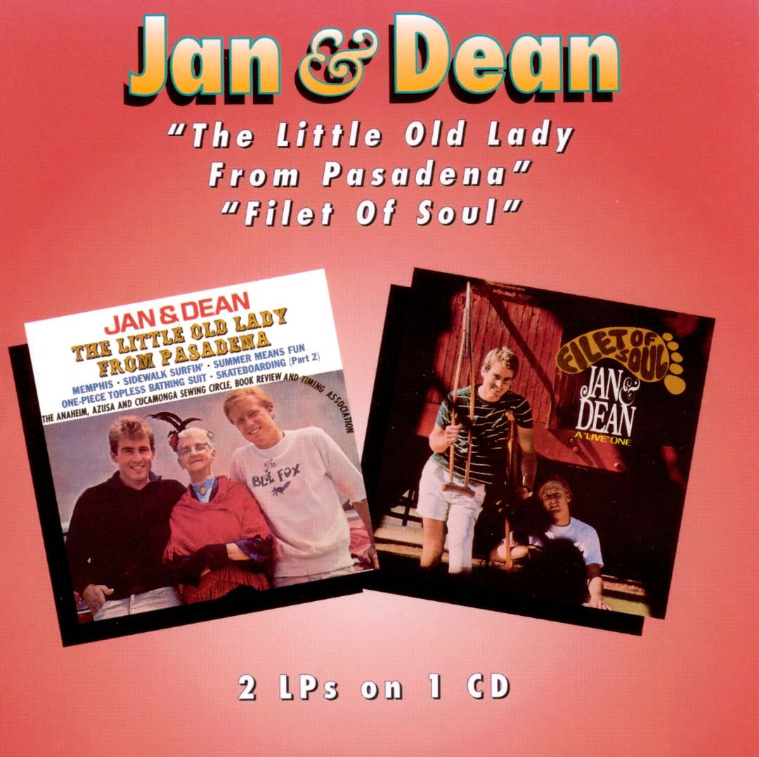 Jan & Dean: Little Old Lady From Pasadena/Filet Of Soul cover