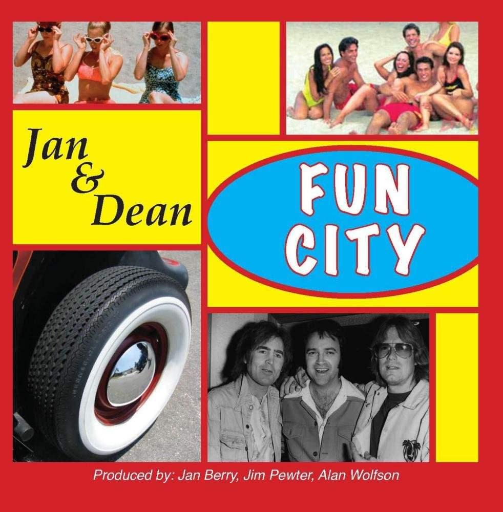 Jan & Dean: Fun City cover