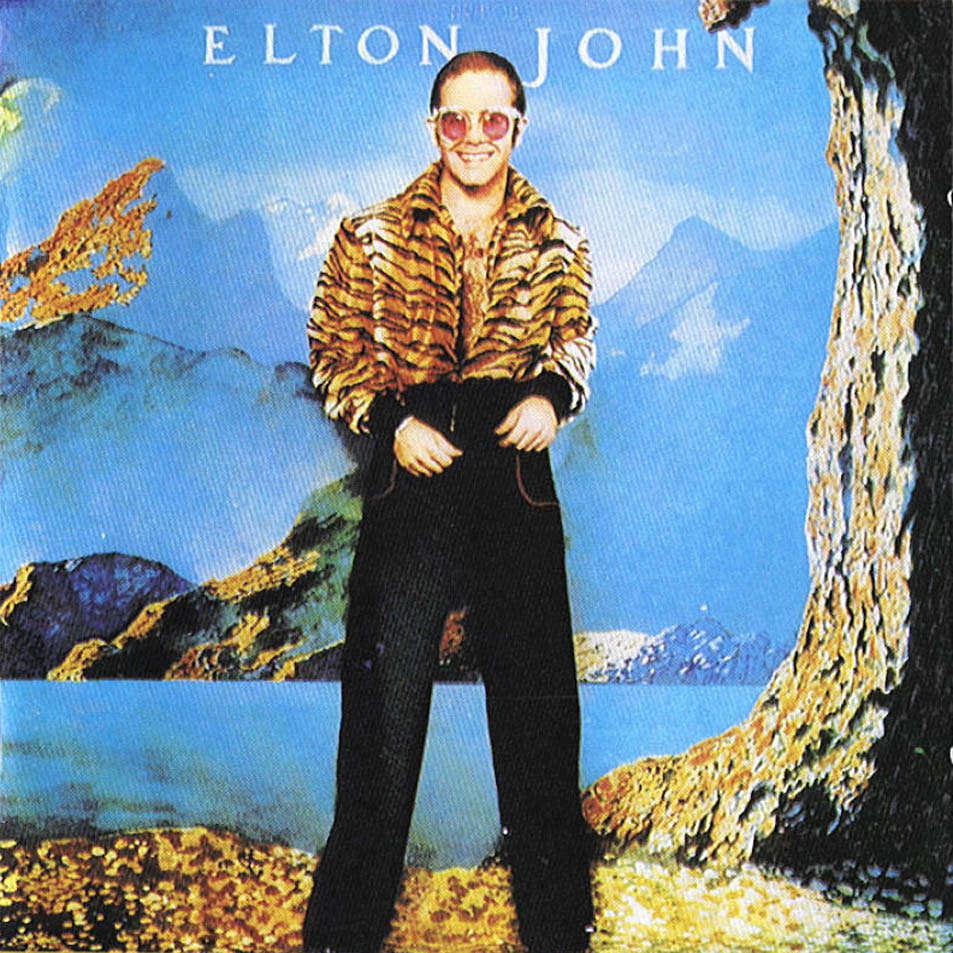 Elton John: Caribou cover