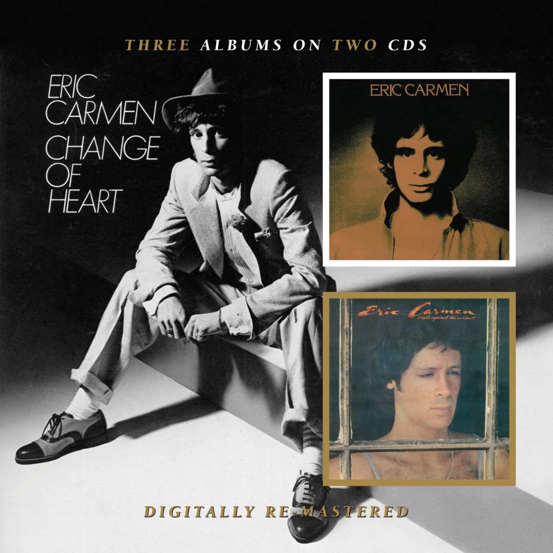 Eric Carmen / Boats Against The Current / Change Of Heart cover