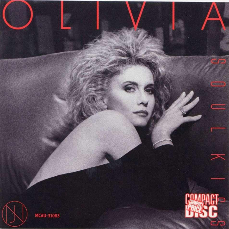 Olivia Newton-John: Soul Kiss cover