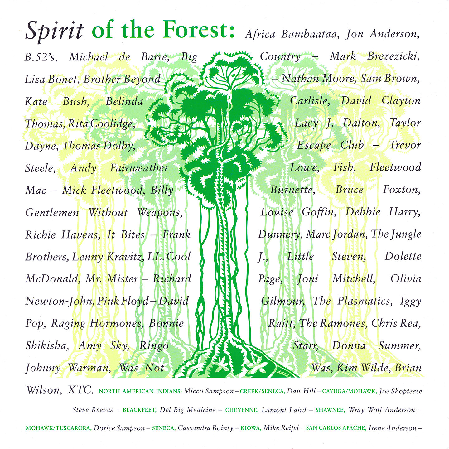 Spirit Of The Forest cover
