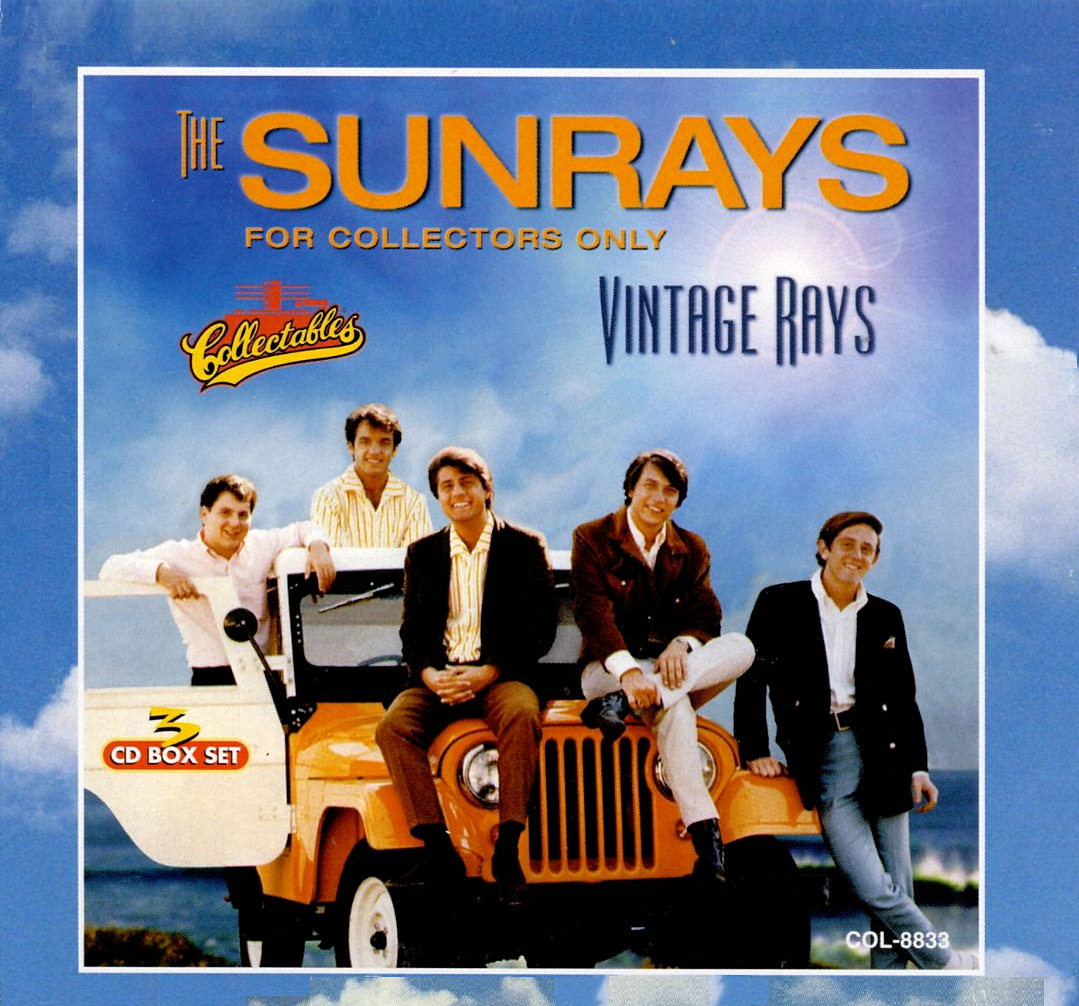 The Sunrays: Vintage Rays cover