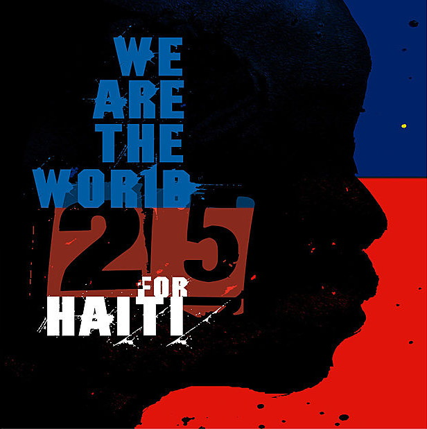 We Are The World 25: For Haiti cover