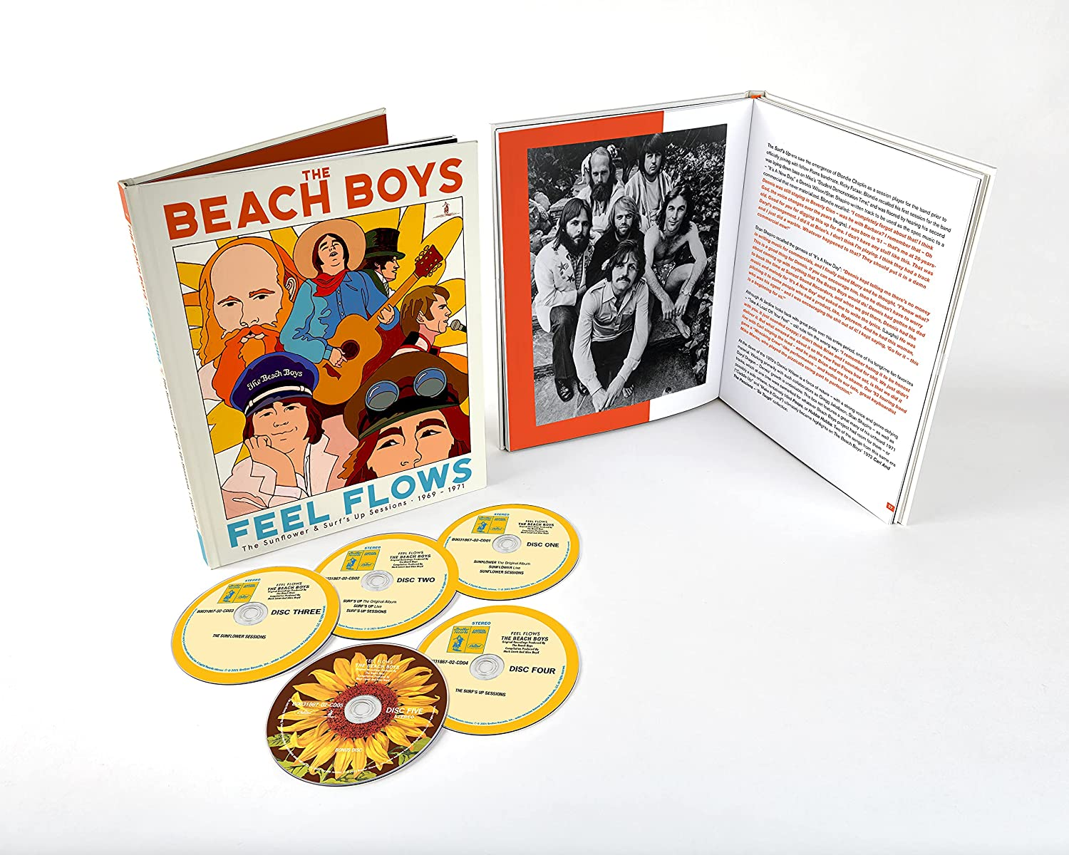 Feel Flows: The Sunflower & Surf's Up Sessions 1969-1971 cover