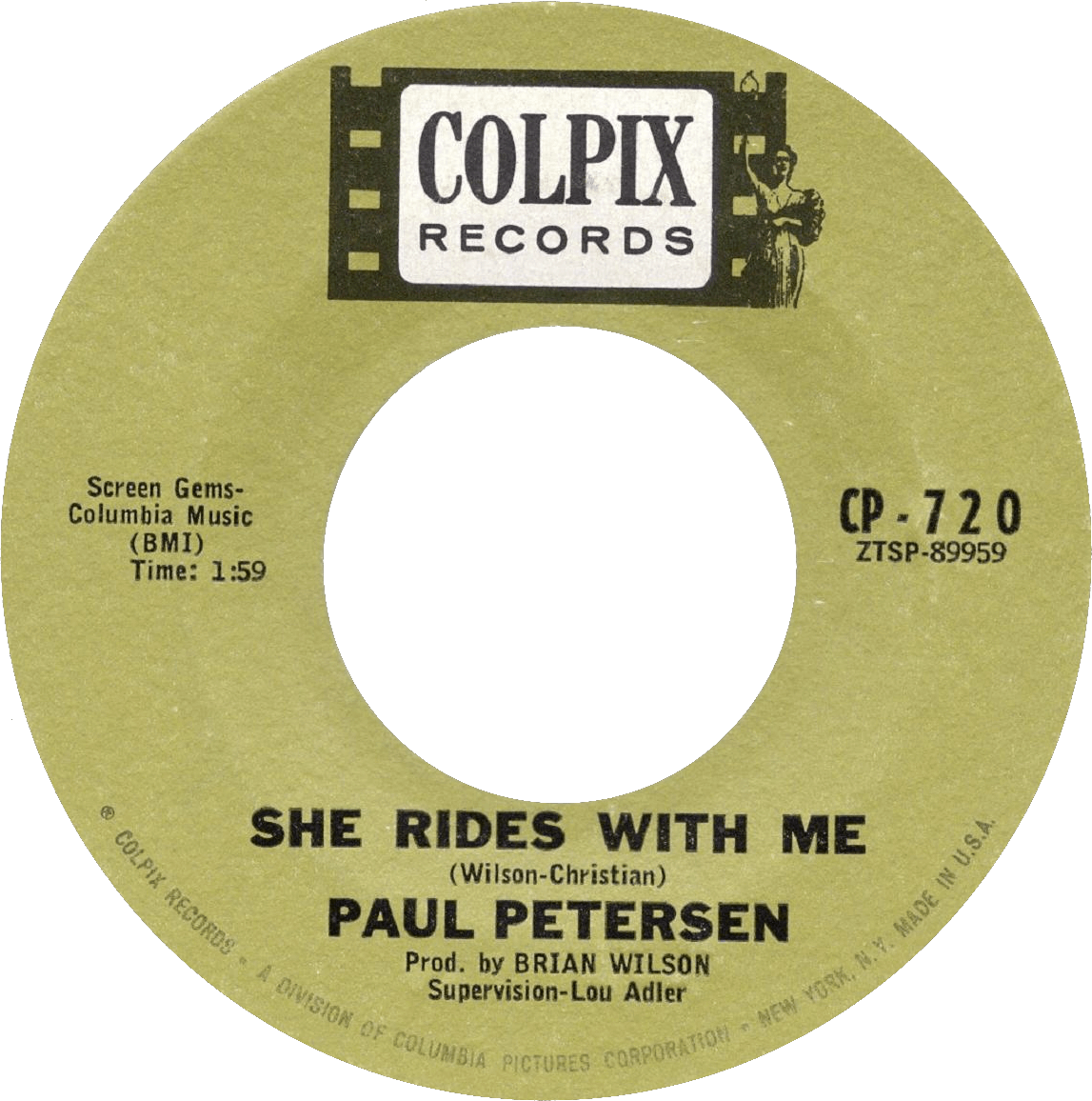 She Rides With Me cover