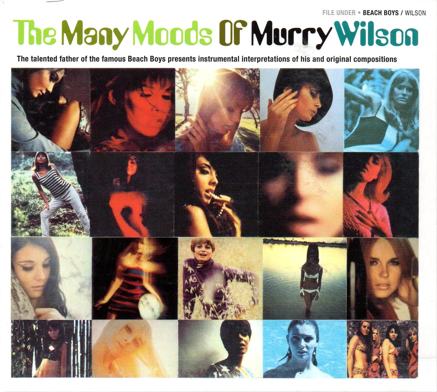 The Many Moods Of Murry Wilson cover