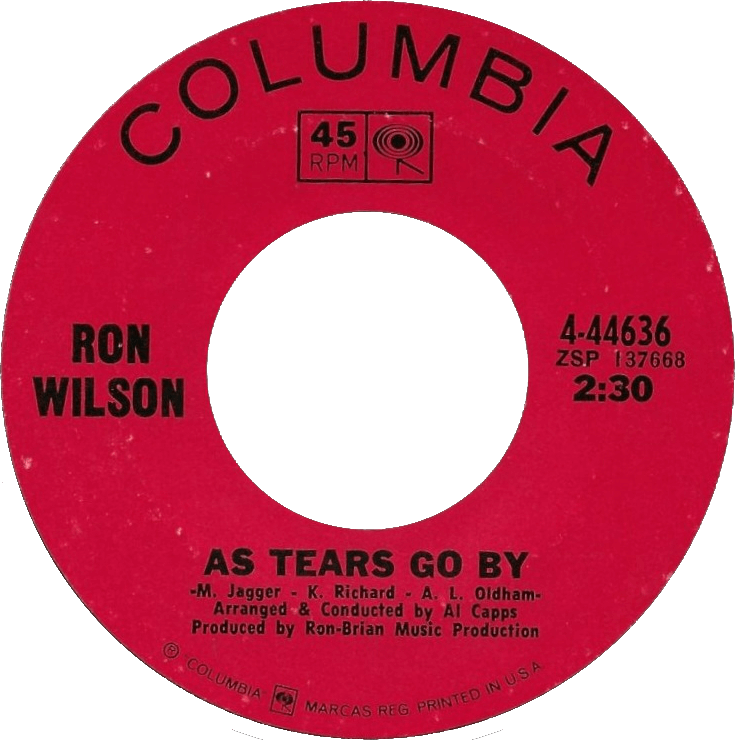 I'll Keep On Loving You/As Tears Go By cover