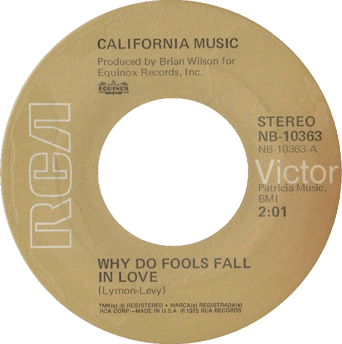 Why Do Fools Fall In Love cover