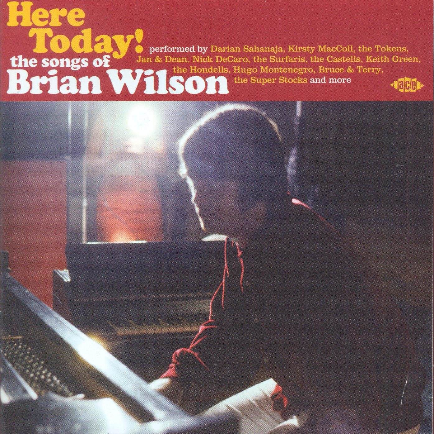 Here Today! The Songs Of Brian Wilson cover