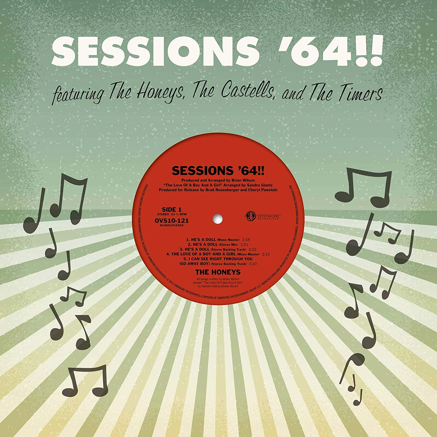 Sessions '64!! cover