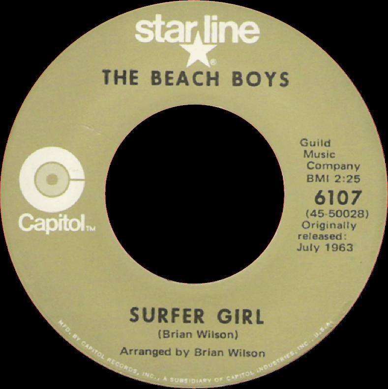 Surfer Girl cover