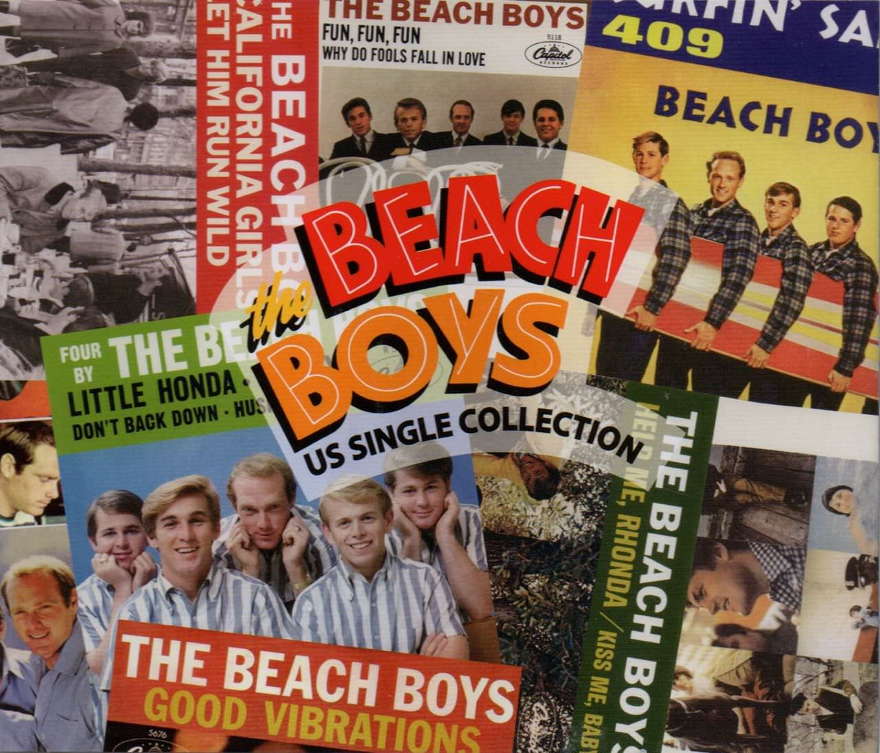 The Beach Boys US Single Collection cover