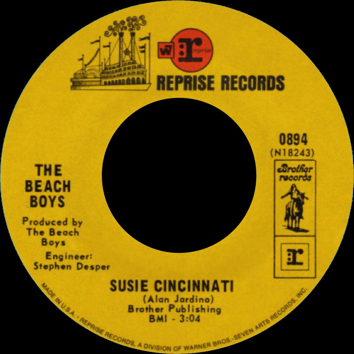 Susie Cincinnati cover