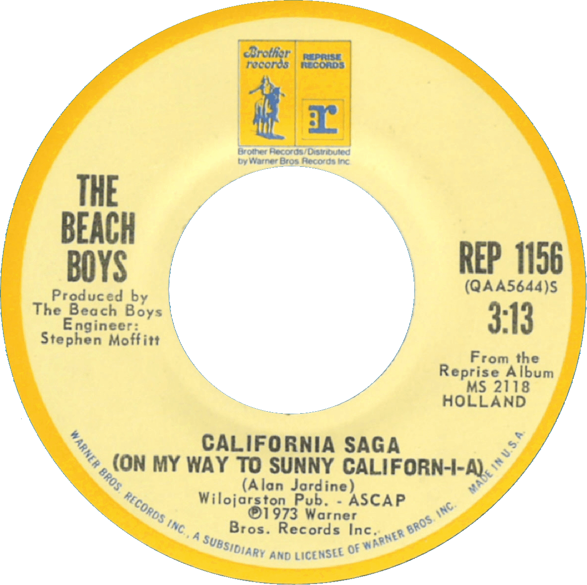 California Saga cover