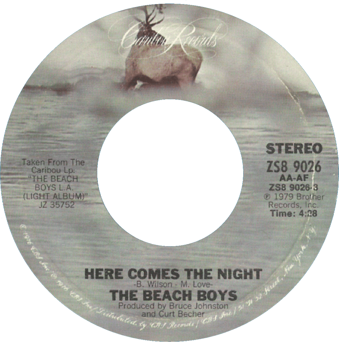 Here Comes The Night cover