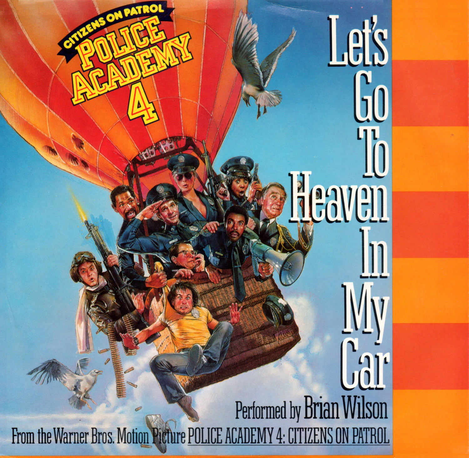 Let's Go To Heaven In My Car/Too Much Sugar cover