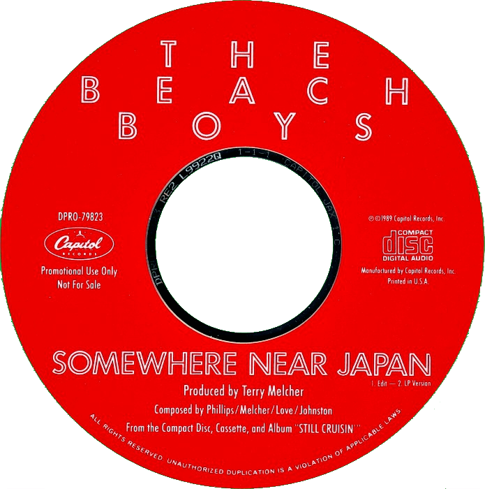 Somewhere Near Japan (Edit) cover