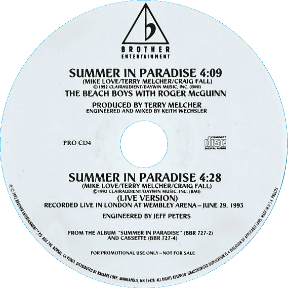 Summer In Paradise cover