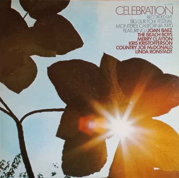 Celebration: The Big Sur Folk Festival 1970 cover