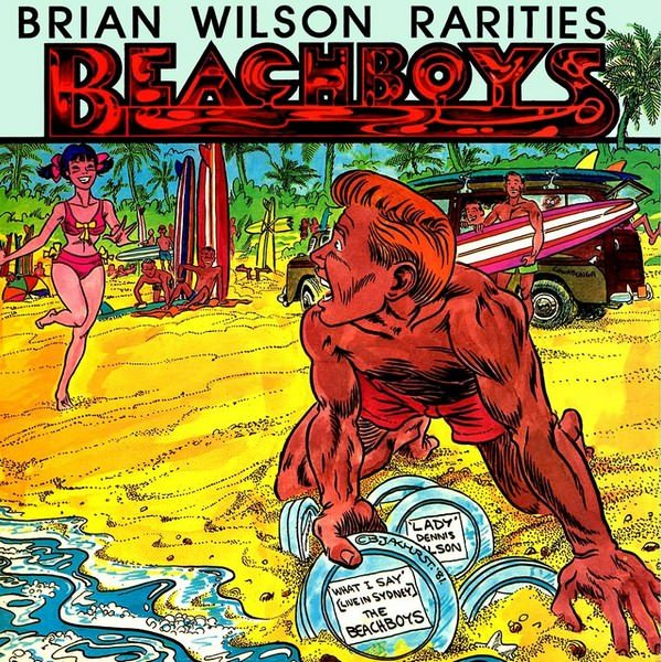 Brian Wilson Rarities cover