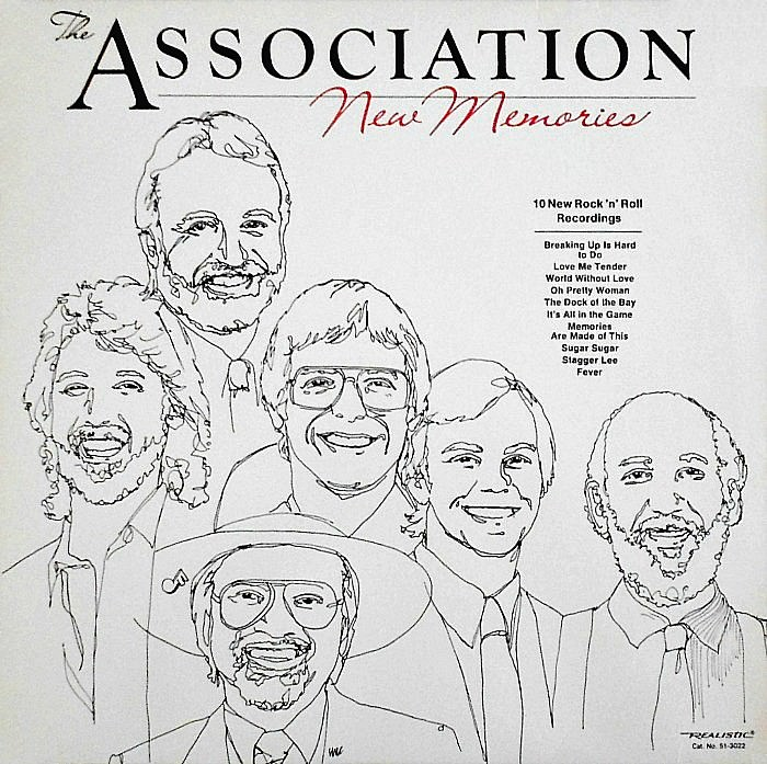 The Association: New Memories cover