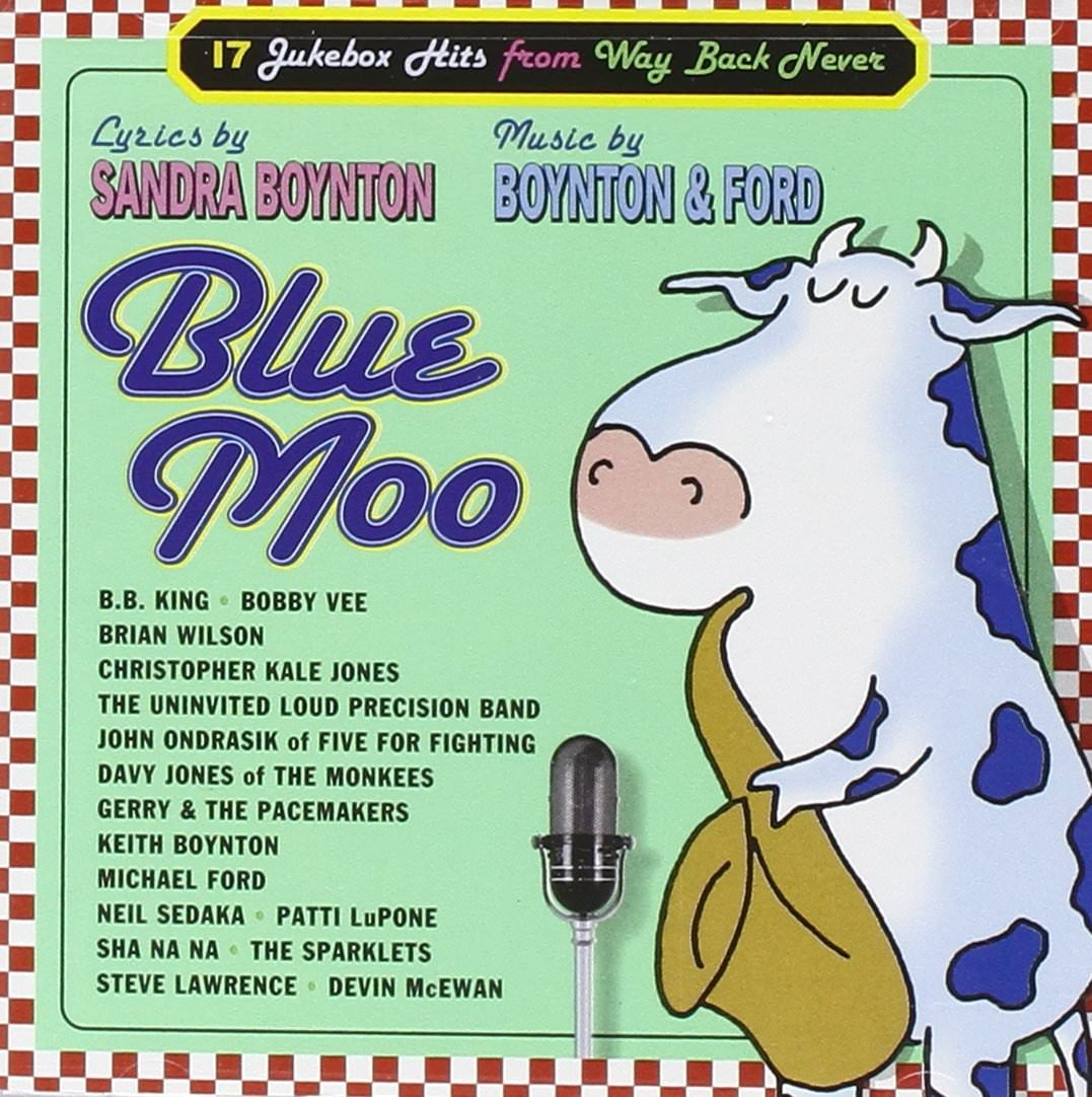 Blue Moo cover