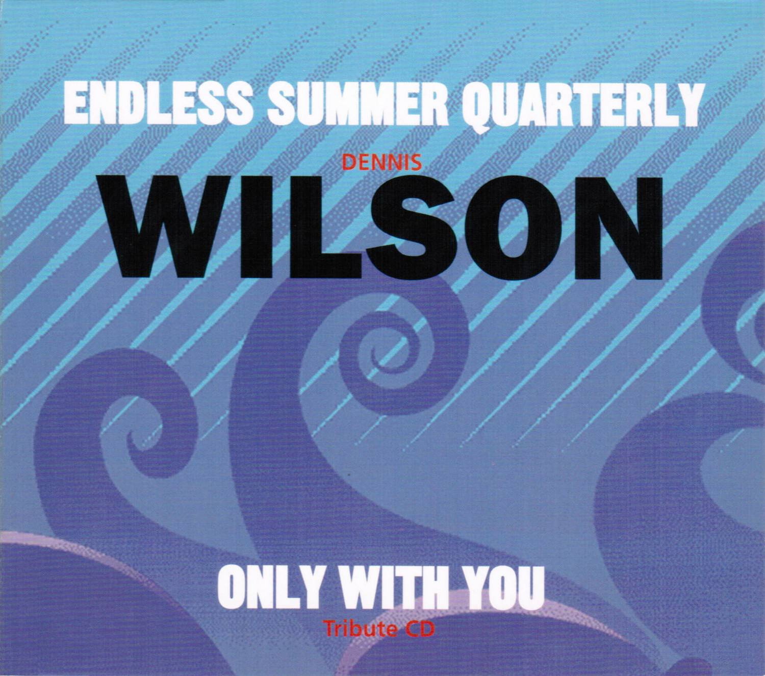Only With You - Tribute CD cover