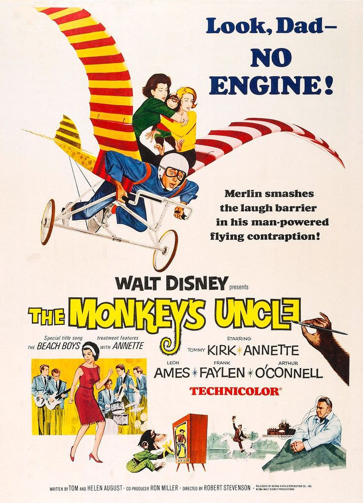 The Monkey's Uncle cover