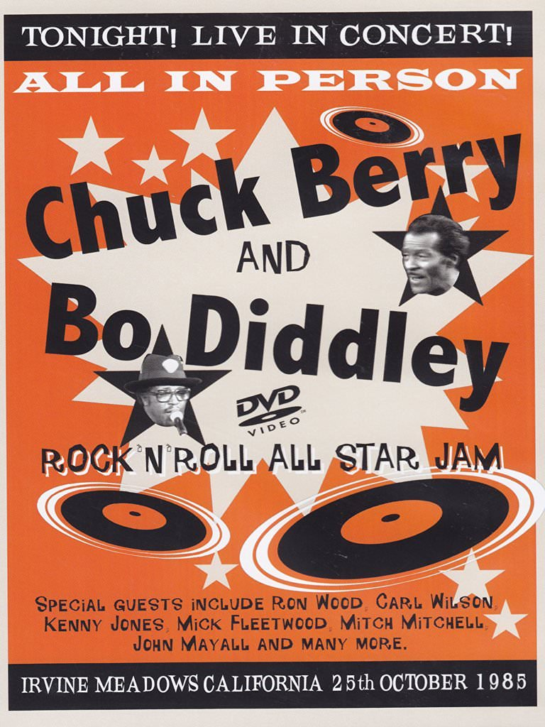 Chuck Berry And Bo Diddley Rock'N'Roll All Star Jam cover