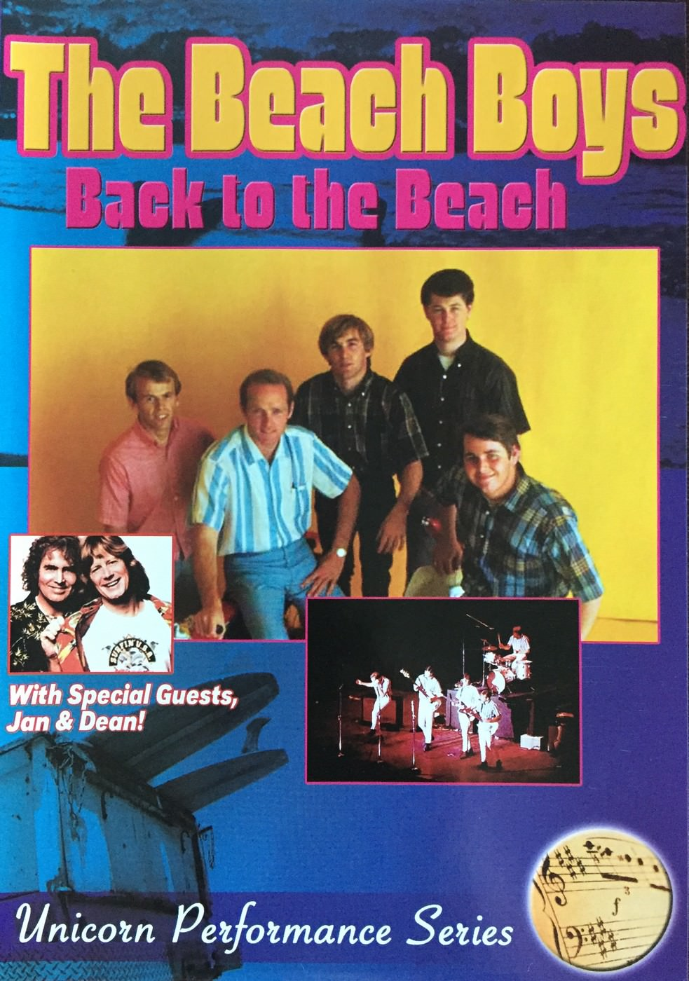 Back To The Beach cover